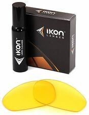 Polarized IKON Replacement Lenses For Oakley Straight Jacket 1999 HD Yellow