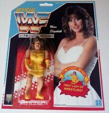 WWF Hasbro custom miss Elizabeth women wrestling figure moc wwe