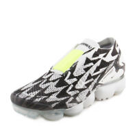 NIKE Mens AIR VAPORMAX FK MOC 2 / ACRONYM LIGHT BONE/VOLT-LIGHT BONE AQ0996-001