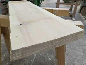 1 Stk Zirbenbrett 120 cm Lang Rohware Bretter Baumkante Zirbenholz Regalbretter
