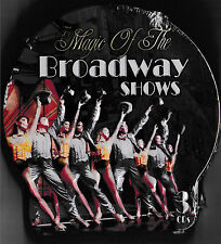 The Magic of the Broadway Shows - 3 CD Metall Box CD / NEU & OVP-SEALED!
