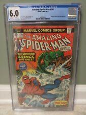 Amazing Spider-Man #145 CGC 6.0 Scorpion Cover Marvel Comics 1975 *FREE SHIPPING