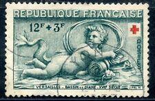 STAMP / TIMBRE FRANCE OBLITERE N° 937 CROIX ROUGE / MOTIFS DU BASSIN DE DIANE