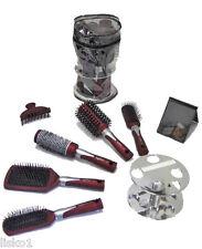 Royal Hair Brush Gift Set 5pc Brushes w/ Mirror + hair clip   LMS
