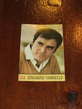 FIGURINA PANINI CANTANTI 1968 RECUPERATA N°103 EDOARDO VIANELLO