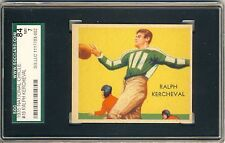 RALPH KERCHEVAL 1935 National Chicle Football #19 SGC 84 7 NR-MT DODGERS PREWAR*