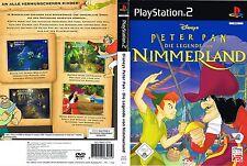 Peter pan: la légende de pays imaginaire (sony playstation 2, 2005, DVD-Box)