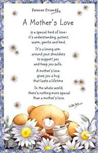 TEA TOWEL Forever Friends A MOTHER'S LOVE New Mum Gift *SENT BY RM 1ST CLASS POS