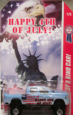 "Hot Wheels A MEDIDA DODGE RAM 3810cmhappy 4th DE JULIO ""Real Riders 1/5 MADE"