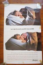 1992 Inter City Sleepers Original Railway Travel Poster