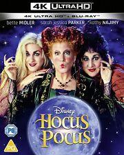 Disney Hocus Pocus 4K Ultra HD High Definition UHD + Blu-ray (New Sealed 4K)