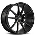 4Ea 19 Savini Wheels Bm12 Gloss Black Rims S13