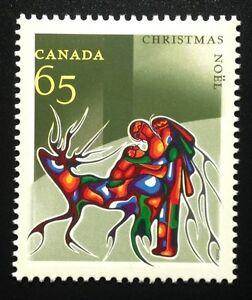 Canada #1966 MNH, Christmas Aboriginal Art Stamp 2002