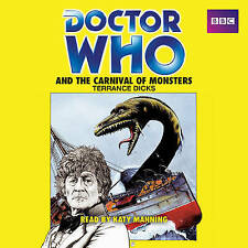 Doctor Who and the Carnival of Monsters: A 3rd Doctor novelisation [Audio CD]