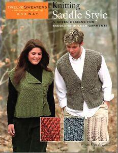 Knitting Saddle Style - A Dozen Designs for Saddle Shoulder Garments