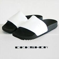 RICK OWENS DRKSHDW rubber flip flop sandals SS19 Babel gym shower slides 36 NEW
