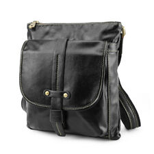 Real Leather Shoulder Bag For Work Men Crossbody Messenger Bag Satchel Sling Bag