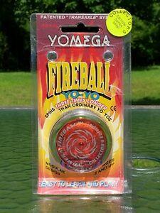 1995 New Yomega Fireball Collector's Edition Yo-Yo Red & Lime Green Made in USA