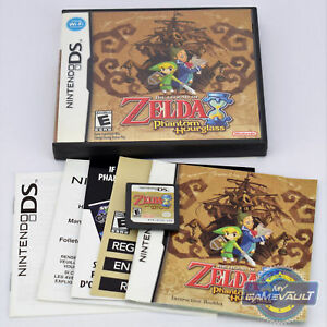 Legend of Zelda Phantom Hourglass Nintendo DS Game NDS 3DS New USA Ver. in Box