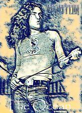 "Led Zeppelin Poster Art 20x30 Large Print ""The Ocean"" Robert Plant Free Shipping"