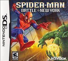 BRAND NEW SEALED DS SPIDERMAN Spider-Man Battle for New York (Nintendo DS, 2006)