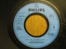 SERGE GAINSBOURG 45 TOURS PROMO LOVE ON THE BEAT (2)