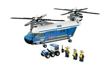 LEGO City 4439 Heavy-Duty Helicopter 100% Complete w/ Manual & Minifigures