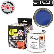 E-Tech BLUE Heat Resistant Engine Enamel Paint 250ml **NEW** High Temp