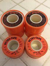 """Petro-Tape Mil Spec. Thread Seal Tape, 3/4""""x540""""x.0035 PTFE, 6 Rolls Per Order"""