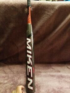 "MIKEN VELOCIT-E flex Ultra II SPU2M 1.21 BPF SSUSA Senior Softball Bat 34"" 28oz"