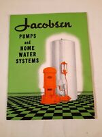 Jacobsen Pumps And Home Water Systems salesman pamphlet
