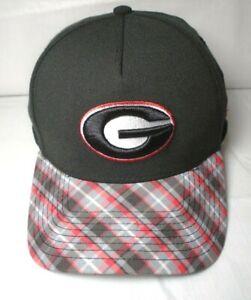 Georgia Bulldogs Men's New Era 39THIRTY A-Frame M/L Cap Hat