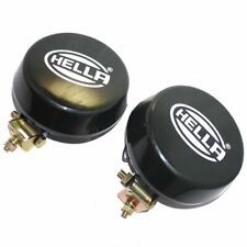 Pair Hella White Fog Lamp With Cover Without H3 Halogen Bulb Universal Fit