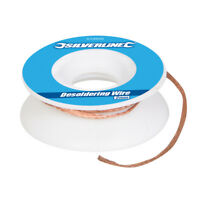 2mm Desoldering Wire Copper Braid, Soldered Joint Remover Flux Wick Solder DIY
