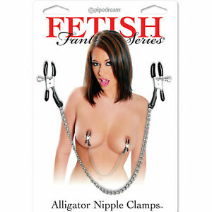 Fetish Fantasy Alligator Nipple Clamps