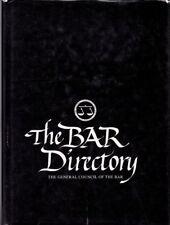The Bar Directory 1996 Edition (Hardback & Dustjacket)