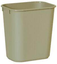 """Small Rectangular Wastebasket 11-3/8""""X8-1 295500Beig - 1 Each"""