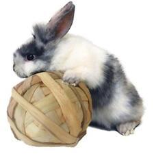 1pc Pet Teeth Grinding Ball Natural Grass Toys For Guniea Pig Rabbit Chinchilla