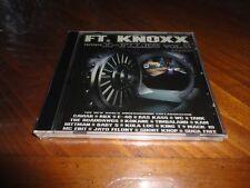 FT. KNOXX Presents X-FILES Vol. 2 West Coast Rap CD - KING T Kokane MC EIHT E-40