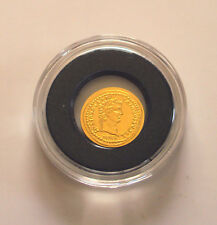 Republic Palau 2010 24ct Gold 1$ coin - Roman Empire Series 'Tiberius' - BU