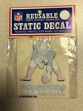 Vintage NOS NFL New England Patriots Team Car Window Static Decal