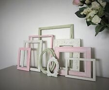 Vintage Style Open Photo Picture Frames Shabby Chic Frame Set Wedding/Display
