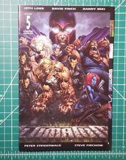 Ultimatum #5 (2009) Gatefold Variant Jeph Loeb Finch Ultimates Ultimate X-Men Nm