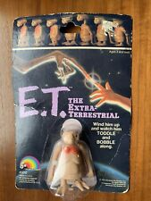 Vtg 1982 E.T. Wind Up Toy Figure LJN Toddle & Bobble Along NEW Extra Terrestrial