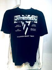 Van Halen Men's 2007 Tour T-Shirt Toronto~ Black~Size Large