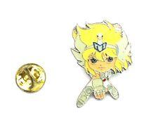 2003 Movic Metal Alloy Saint Seiya pin CIGNUS HYOGA BRONZE SAINT 3.5 x 3 cm appr