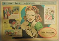 Private Lives: Ann Sheridan, Cartoonist Rube Goldberg Edwin Cox from 11/19/1939