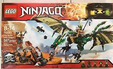 LEGO NInjago Skybound 70593 The green NRG dragon