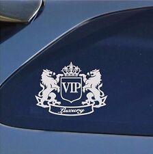 Waterproof Vinyl Decal VIP The Lion Cartoon DIY JDM Window White Car Sticker