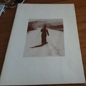 "Vintage ""Charlie Chaplin... Actor"" Movie Program Souvenir 1973"